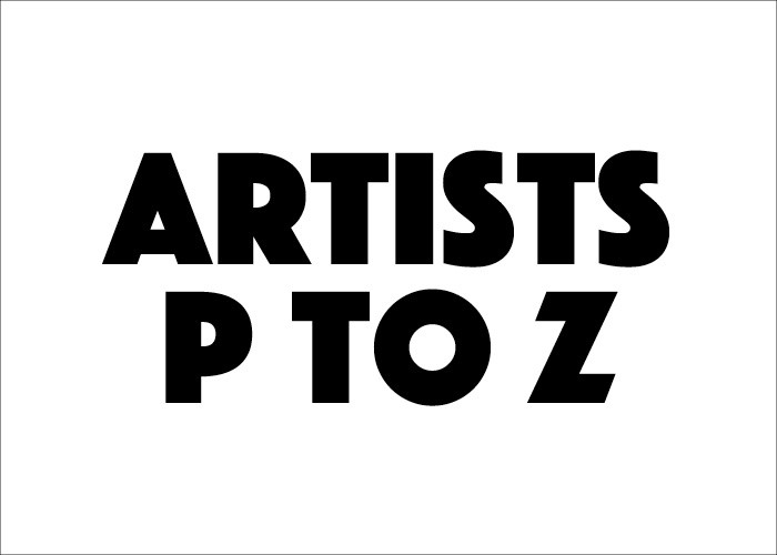 Artists P to Z