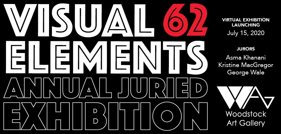 Visual Elements 62 Annual Juried Exhibition banner