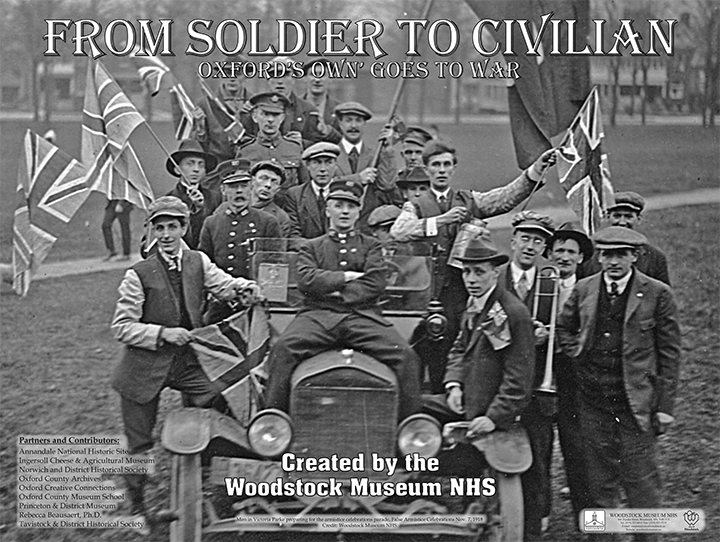 From Soldier to Civilian Exhibit Poster