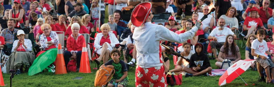 Canada Day Performer Image