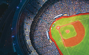 Rogers Center overhead view